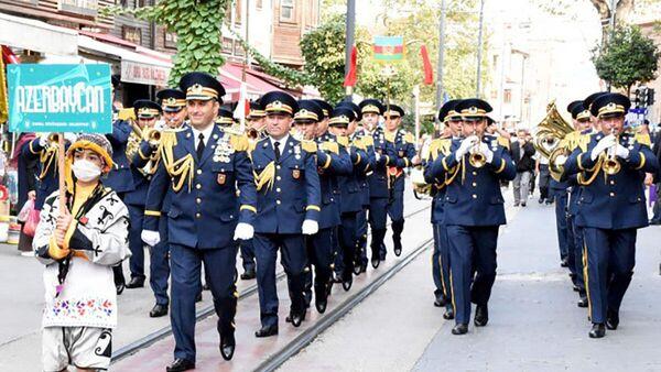 Азербайджанский военный оркестр в Турции - Sputnik Азербайджан