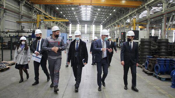 Немецкие предприниматели в Сумгайытском химическом индустриальном парке - Sputnik Азербайджан