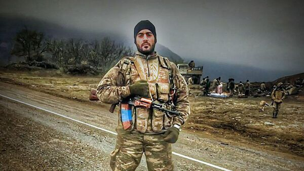 Ветеран второй Карабахской войны Эльвин Шахмардан - Sputnik Азербайджан