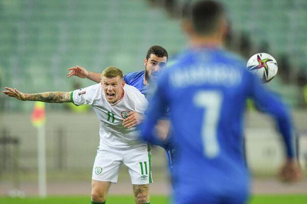 Матч между сборными Азербайджана и Ирландии вызвал слабый интерес у болельщиков национальной команды . - Sputnik Азербайджан