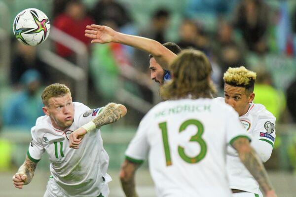 К тому же, ирландцы с первых минут матча почувствовали себя, как в Дублине и осадили ворота Шахруддина Магомедалиева. - Sputnik Азербайджан
