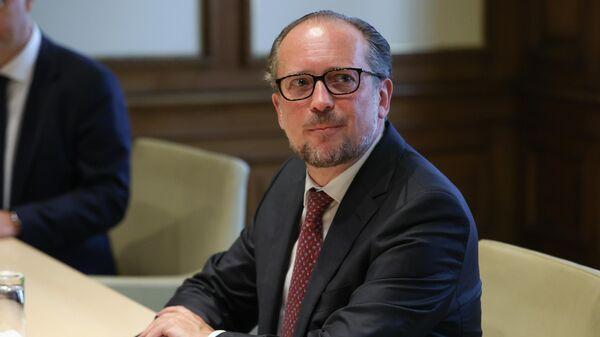 Министр европейских и международных дел Австрии Александр Шалленберг - Sputnik Азербайджан