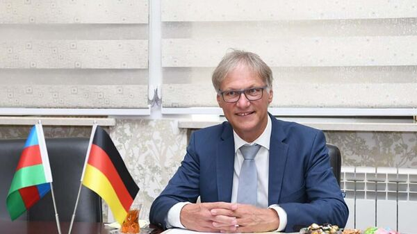 Посол Германии в Азербайджане Вольфганг Маниг - Sputnik Азербайджан