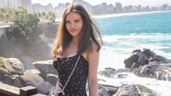 Победительница Miss Azerbaijan-2015 Натали Соколевская, фото из архива - Sputnik Азербайджан