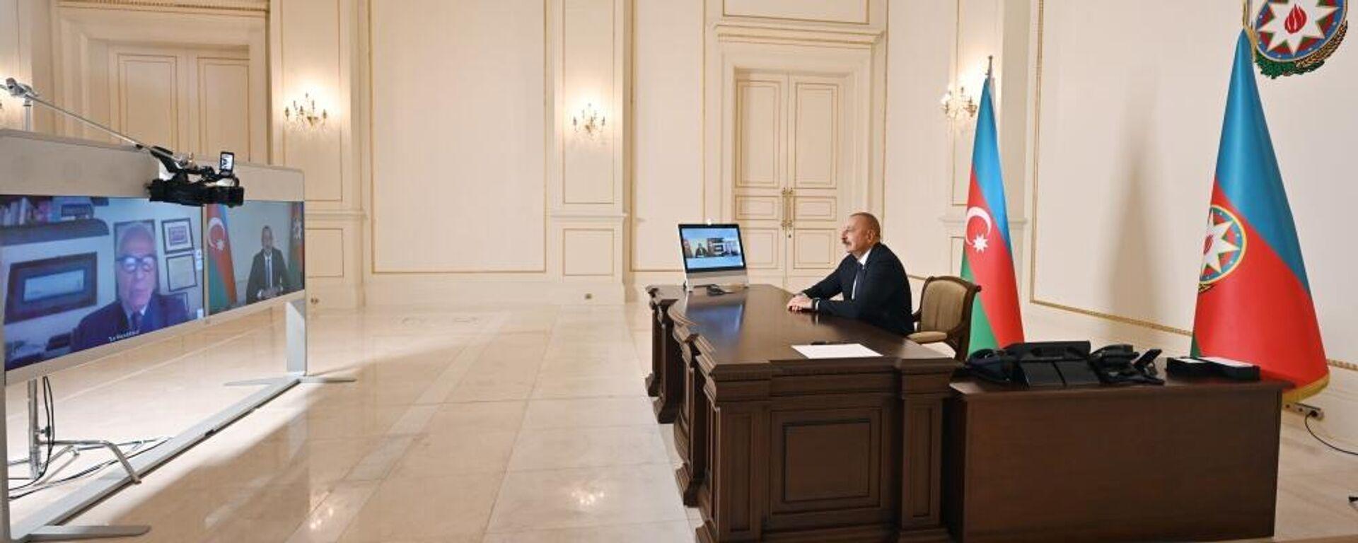 Президент Азербайджана Ильхам Алиев 7 октября дал интервью итальянской газете La Repubblica - Sputnik Azərbaycan, 1920, 13.10.2021