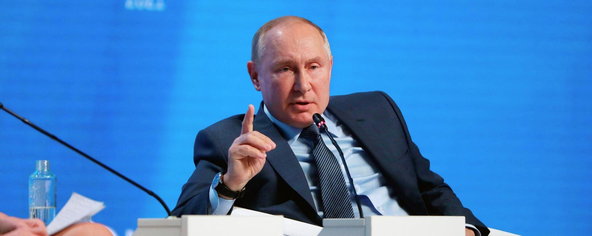 Vladimir Putin - Sputnik Azərbaycan, 1920, 13.10.2021