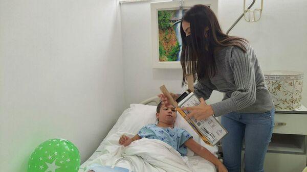 Благотворительная акция для детей из семей героев - Sputnik Азербайджан