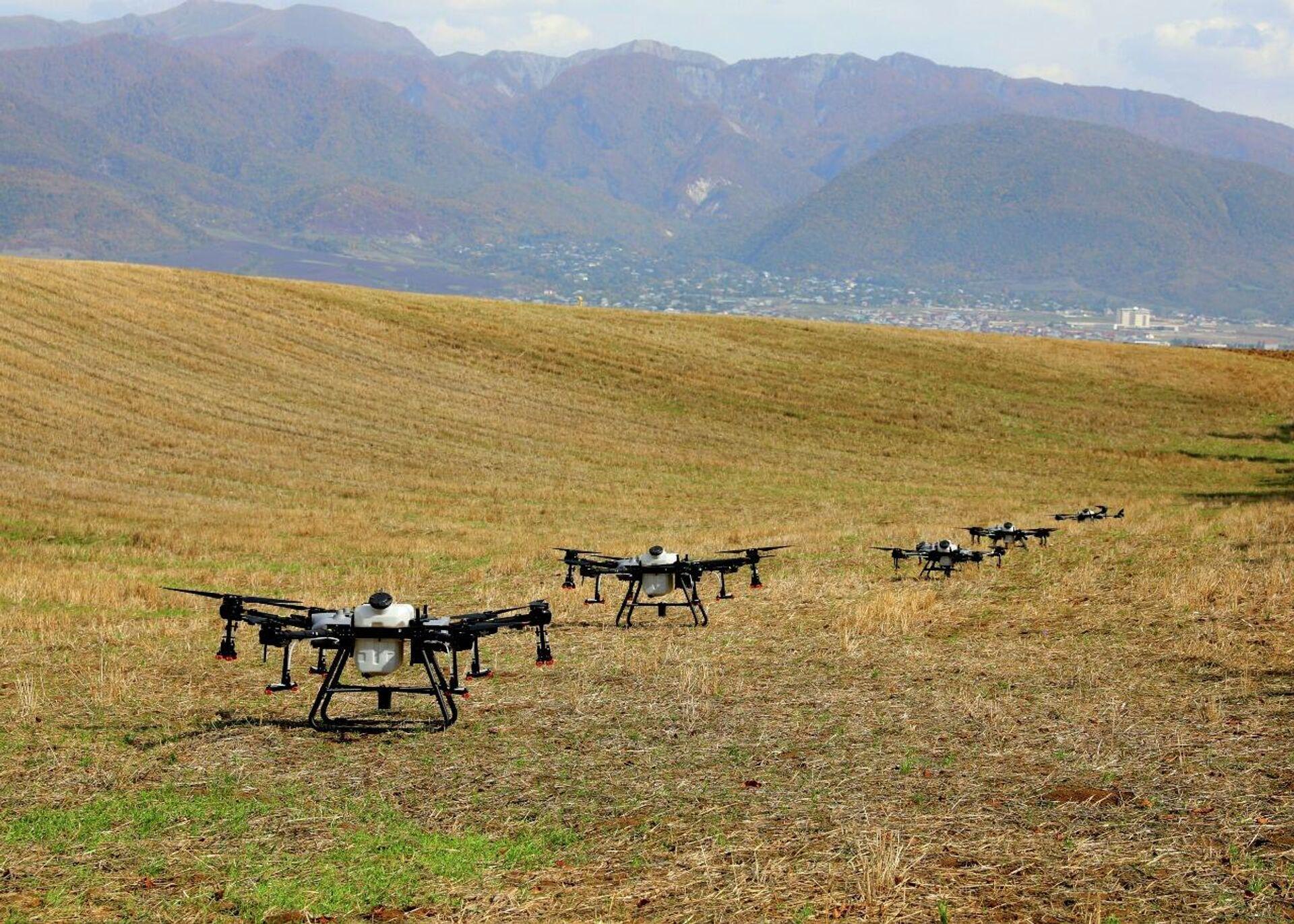 Dronlar - Sputnik Azərbaycan, 1920, 14.10.2021