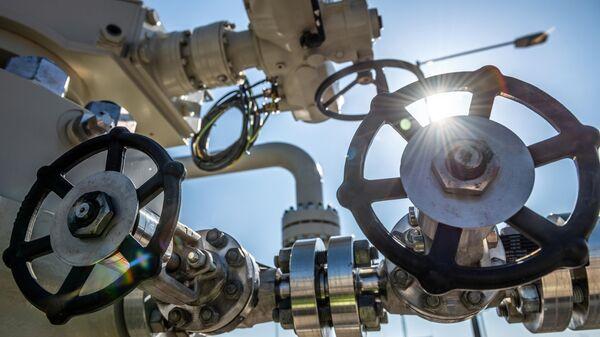 Строительство газопровода Северный поток-2 в Германии - Sputnik Азербайджан