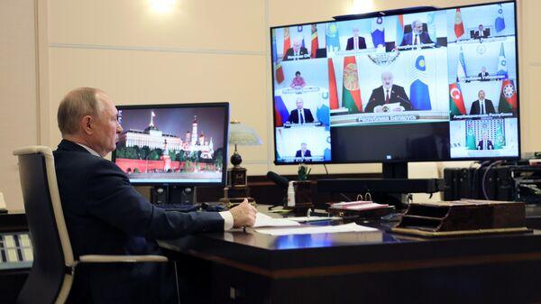 Заседание Совета глав государств - участников СНГ - Sputnik Азербайджан