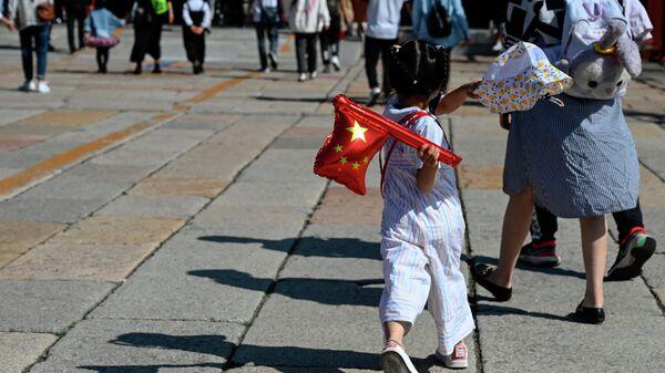 Празднование Национального дня в Китае  - Sputnik Азербайджан