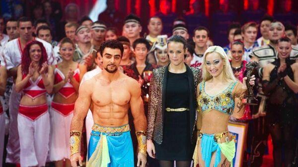 Артисты российского цирка Триумф - Sputnik Азербайджан