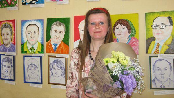 Российская художница Елена Сухорукова - Sputnik Азербайджан