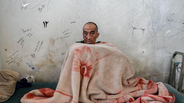 Наркоман в отделении детоксикации больницы им. Авиценны в Кабуле - Sputnik Азербайджан