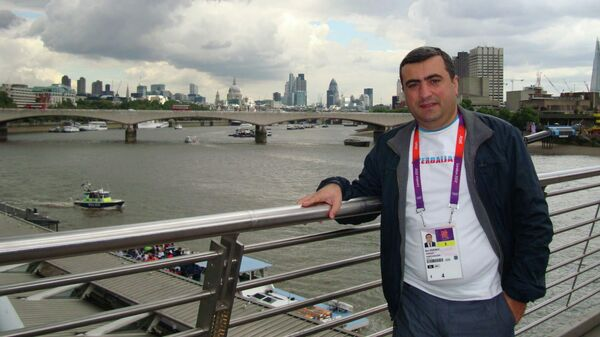 Эльнур Ашрафоглу, фото из архива - Sputnik Азербайджан