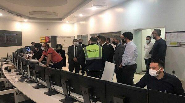 Сотрудники Бакметрополитена побывали в стамбульском метро для обмена опытом - Sputnik Азербайджан