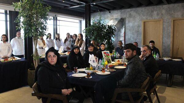 Мероприятие было посвящено азербайджанским поварам, ставшим шехидами во время Отечественной войны, - Sputnik Азербайджан