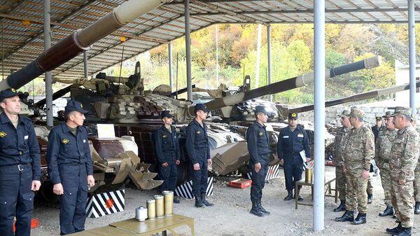В Кяльбаджарском и Лачинском районах проверена готовность воинских частей к зиме - Sputnik Азербайджан