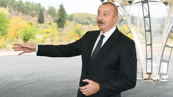 Президент Ильхам Алиев - Sputnik Азербайджан