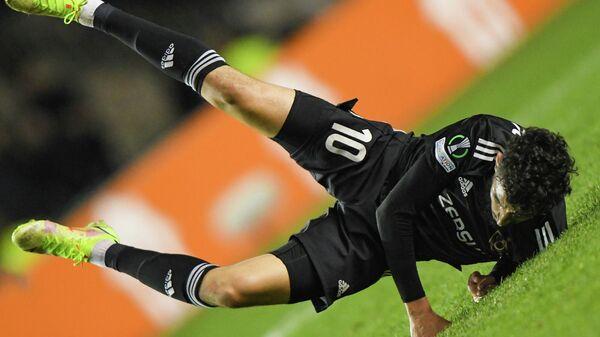 UEFA Konfrans Liqasında Qarabağ - Kayrat oyunundan kadr - Sputnik Azərbaycan
