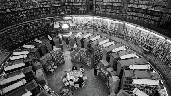 Rusiya Milli Kitabxanası, Sankt-Peterburq - Sputnik Azərbaycan