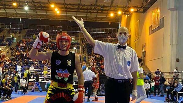 Эдуард Мамедов на чемпионате мира в Италии - Sputnik Азербайджан