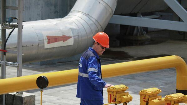 Комплекс транспортировки экспортного газа КС Краснодарская. - Sputnik Азербайджан