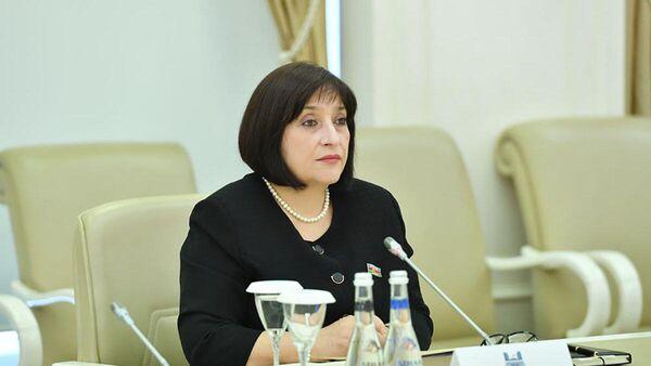 Спикер парламента Азербайджана Сахиба Гафарова  - Sputnik Азербайджан