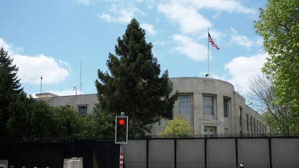 Ankarada ABŞ səfirliyi, arxiv şəkli - Sputnik Azərbaycan
