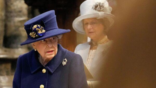 Королева Великобритании Елизавета II, фото из архива - Sputnik Азербайджан