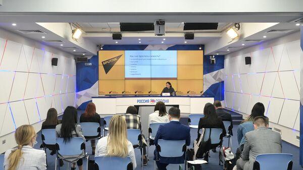 Очная сессия проекта SputnikPro для журналистов из стран СНГ  - Sputnik Азербайджан