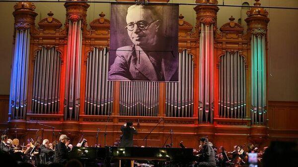 Концерт, посвященный 100-летию Бакинской музыкальной академии имени Узеира Гаджибейли (БМА) - Sputnik Азербайджан
