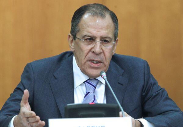 Пресс-конференция главы МИД РФ Сергея Лаврова - Sputnik Азербайджан