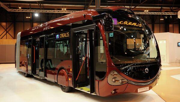 автобус марки Iveco Crealis - Sputnik Azərbaycan