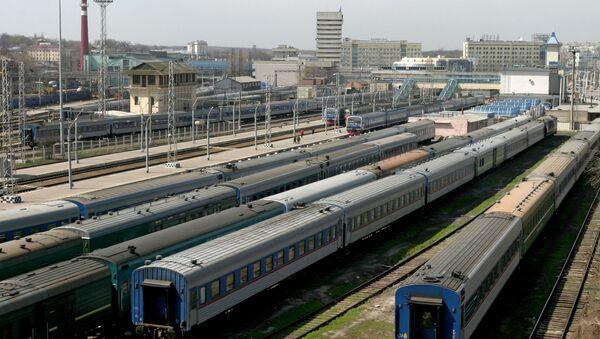 Железнодорожный узел - Sputnik Азербайджан