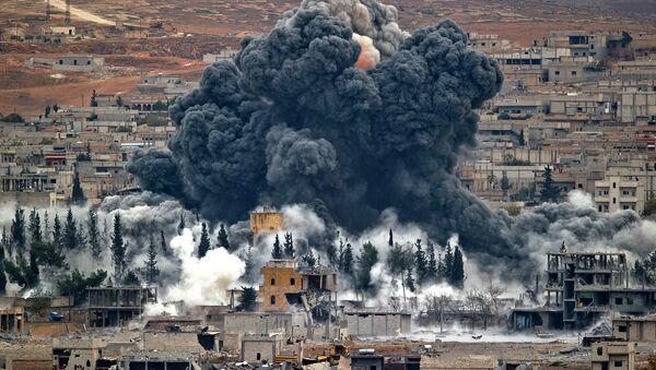 Syrian city of Kobani - Sputnik Азербайджан