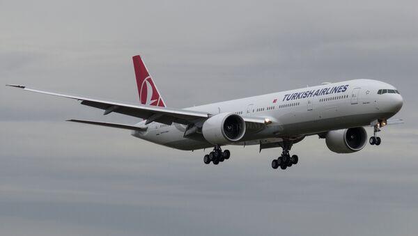 Turkish Airlines Boeing 777-300 - Sputnik Азербайджан