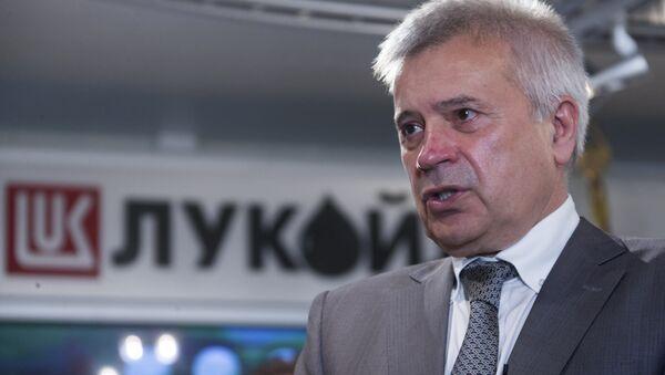 Президент ОАО Лукойл Вагит Алекперов. Архивное фото - Sputnik Азербайджан