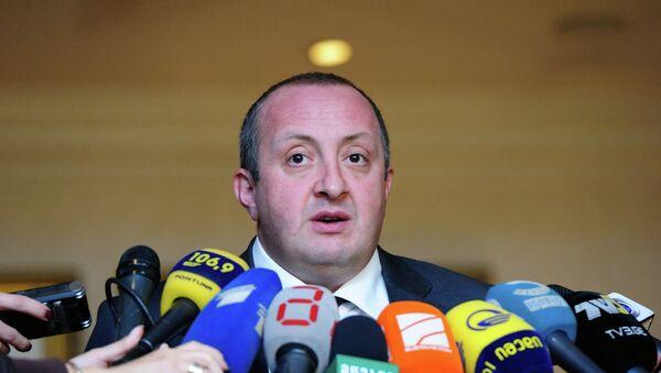 Giorgi Margvelashvili - Sputnik Азербайджан