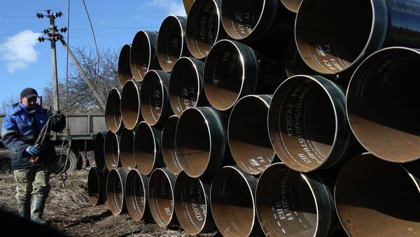 Building of pipeline - Sputnik Азербайджан