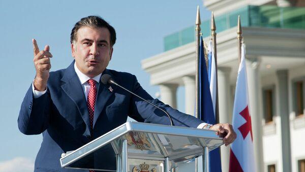 Одесский губернатор Михаил Саакашвили. Архивное фото - Sputnik Азербайджан