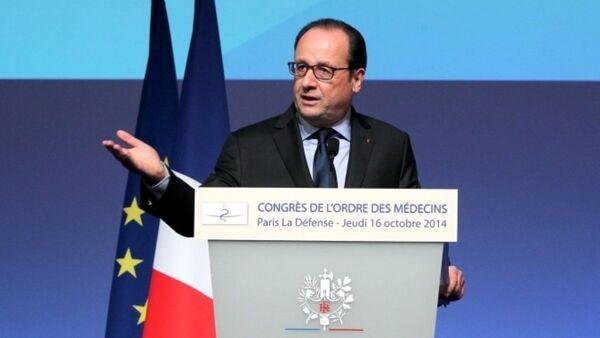 Fransa prezidenti Fransua Olland - Sputnik Azərbaycan