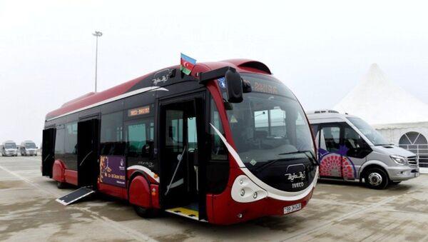 Автобус BakuBus. Архивное фото - Sputnik Азербайджан