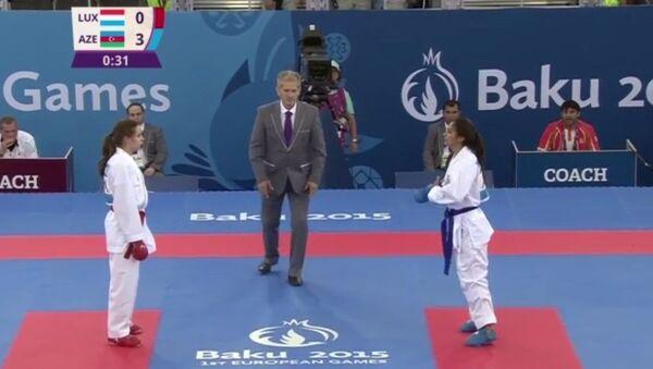 Karate İlahə Qasımova - Sputnik Azərbaycan