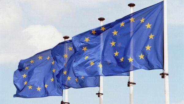 Флаги Евросоюза - Sputnik Azərbaycan
