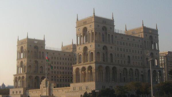 Дом правительства. Архивное фото - Sputnik Азербайджан