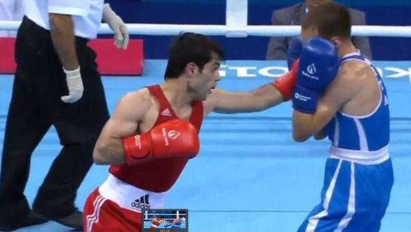 Elvin Məmişzadə - boksçu - Sputnik Azərbaycan