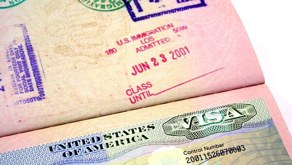US Visa - Sputnik Азербайджан
