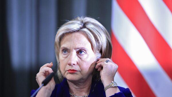 Hillari Klinton - Sputnik Azərbaycan