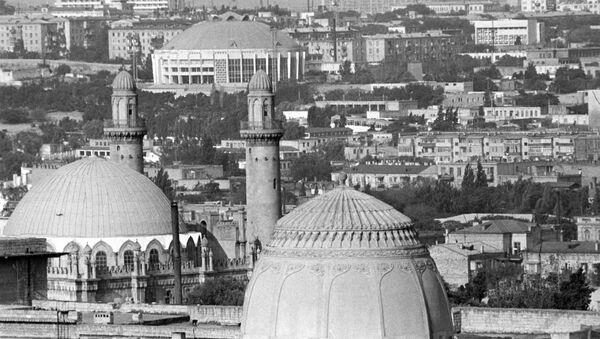 Вид на город Баку - Sputnik Azərbaycan
